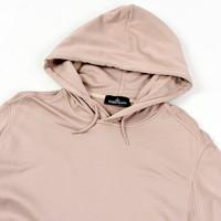 Stone Island shadow project pink hooded sweatshirt M