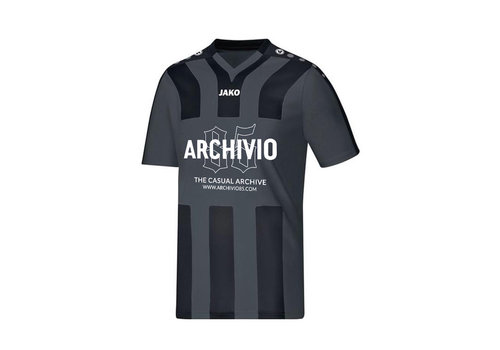 Archivio85 Archivio85 voetbalshirt Black & Grey
