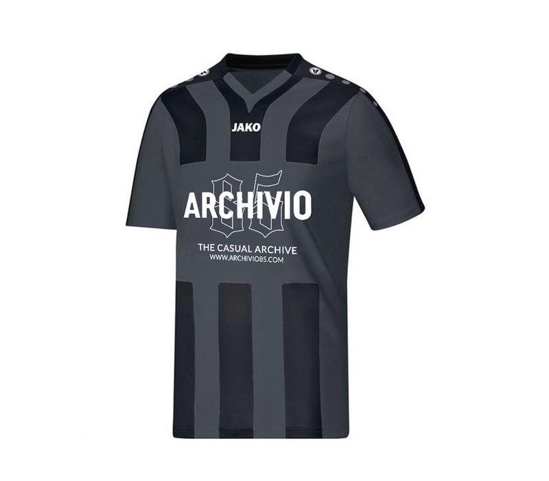 Archivio85 voetbalshirt Black & Grey