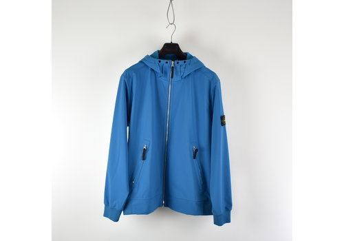 Stone Island Stone Island blue light soft shell-r hooded jacket XXXL