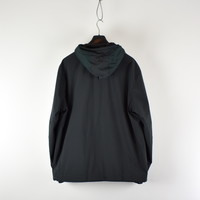 Stone Island dark green soft shell-r with primaloft hooded jacket XXXL