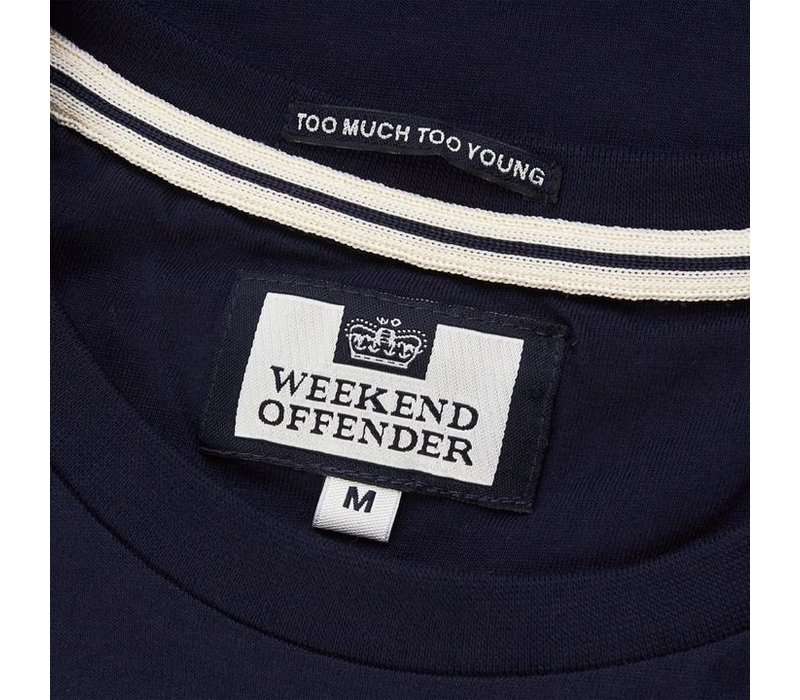 Weekend Offender City Series 3.0 Casuals Holland t-shirt Navy