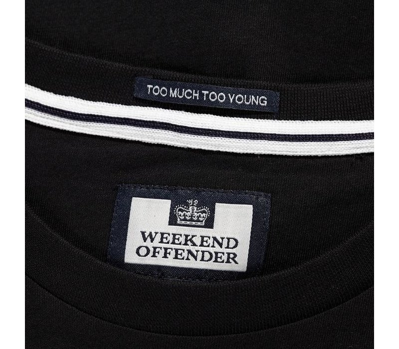 Weekend Offender City Series 3.0 Casuals Groningen t-shirt Black