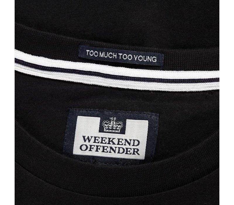 Weekend Offender City Series 3.0 Casuals Utrecht t-shirt Black