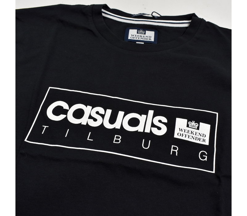 Weekend Offender City Series 3.0 Casuals Tilburg t-shirt Black