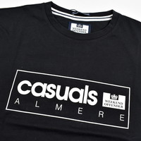 Weekend Offender City Series 3.0 Casuals Almere t-shirt Black