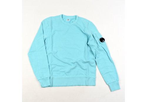 C.P. Company C.P. Company garment dyed light fleece lens crew sweatshirt Blue radiance