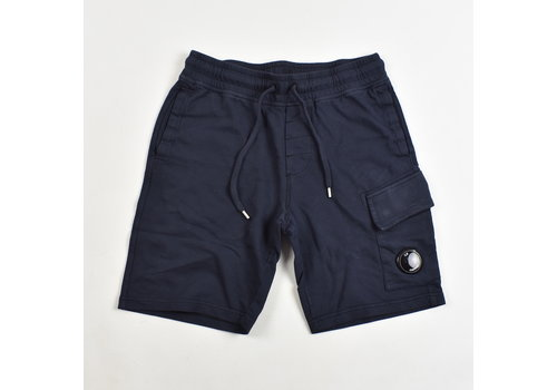 C.P. Company C.P. Company garment dyed light fleece lens pocket sweatshort Navy