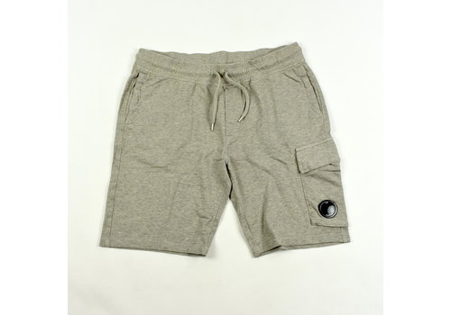 C.P. Company C.P. Company garment dyed light fleece lens pocket sweatshort Grey