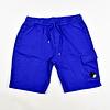C.P. Company C.P. Company garment dyed light fleece lens pocket sweatshort Electric blue
