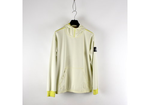 Stone Island Stone Island yellow reflective hooded sweat M