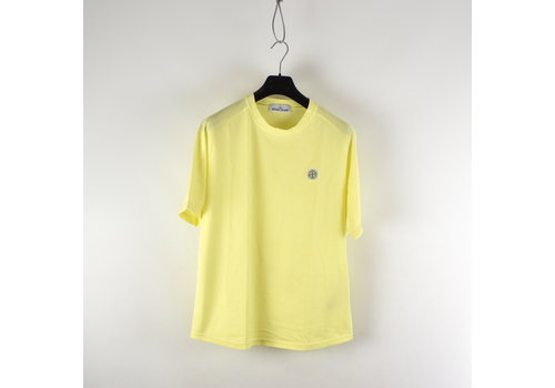 Stone Island Stone Island yellow oversized patch program t-shirt M