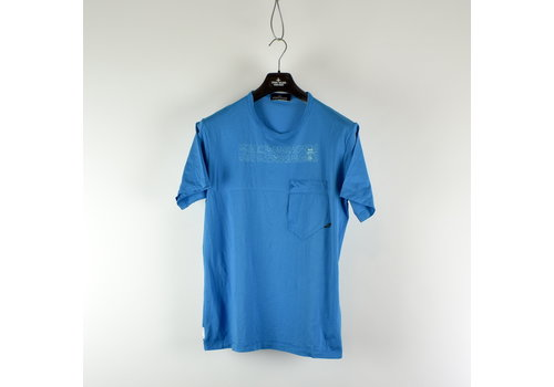 Stone Island Stone Island shadow project blue catch pocket-t XL