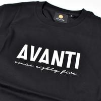 Avanti85 riviera black t-shirt