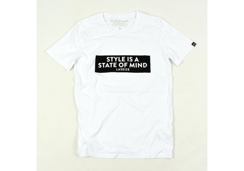 Laseize XVI Laseize XVI style is a state of mind t-shirt White
