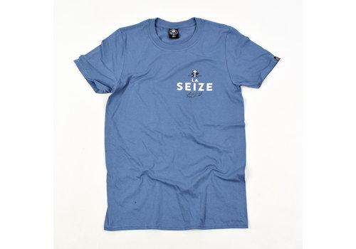 Laseize XVI Laseize XVI pocket print t-shirt Blue