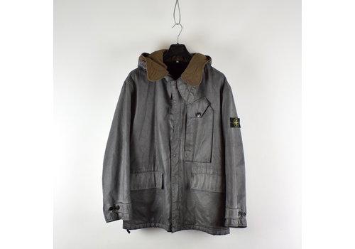 Stone Island Stone Island grey radiale esploso lined trench coat XL