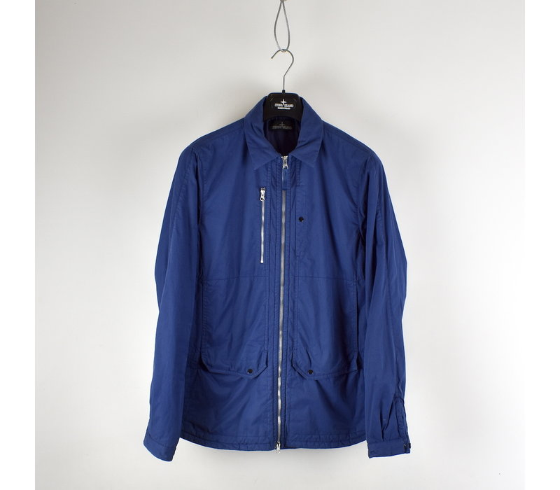 Stone Island shadow project blue padded overshirt jacket L
