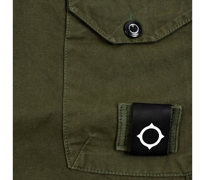 MA.STRUM GDM short Dark khaki green