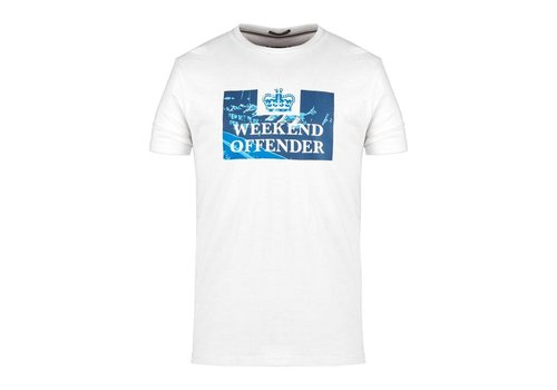 Weekend Offender Weekend Offender Away days prison t-shirt White