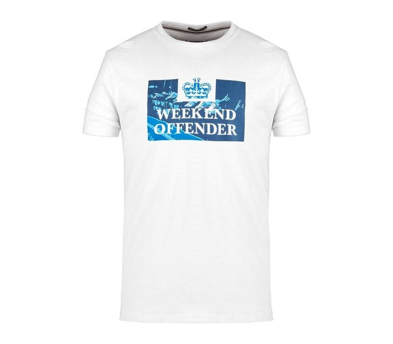 Weekend Offender Away days prison t-shirt White