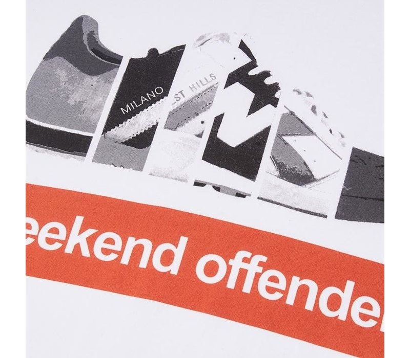 Weekend Offender Trainerspotting t-shirt White