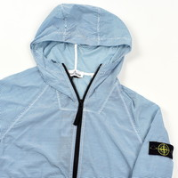 Stone Island junior striped hooded jacket age 14