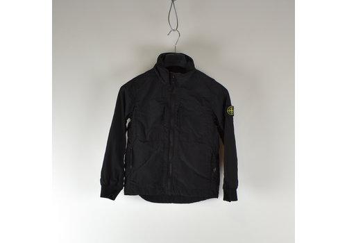 Stone Island Stone Island junior black reflective logo overshirt jacket age 6