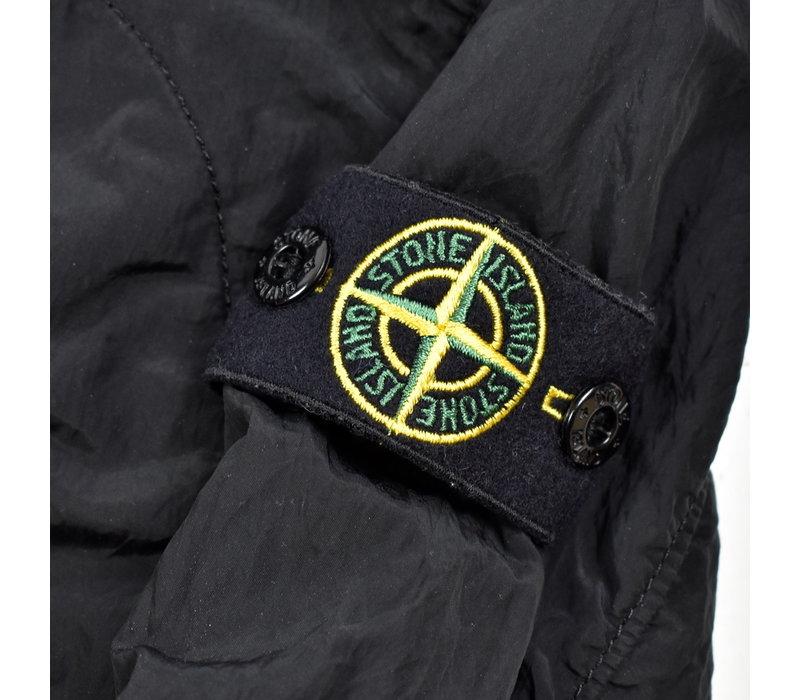 Stone Island junior black reflective logo overshirt jacket age 6