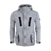 Marshall Artist fragment process jacket Grey