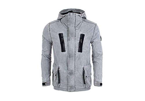 Marshall Artist Marshall Artist fragment process jacket Grey