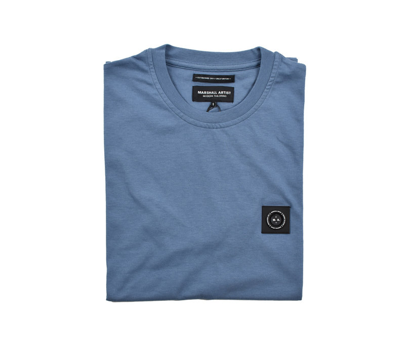 Marshall Artist siren ss t-shirt Quarry blue
