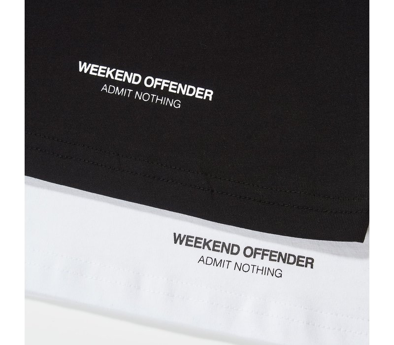 Weekend Offender Prison issue twin pack Black/White