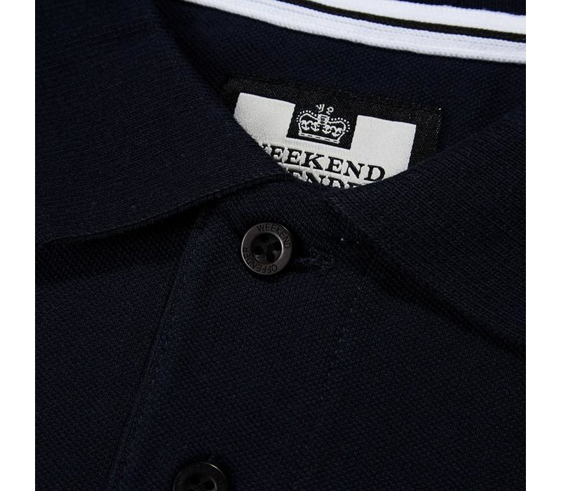 Weekend Offender Colombia polo Navy