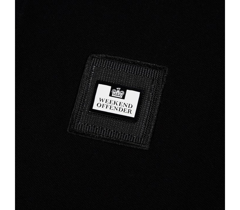 Weekend Offender Colombia polo Black