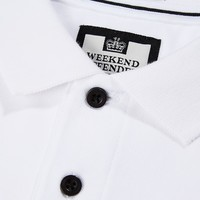 Weekend Offender Colombia polo White