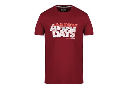 Weekend Offender Weekend Offender Away Days t-shirt Garnet