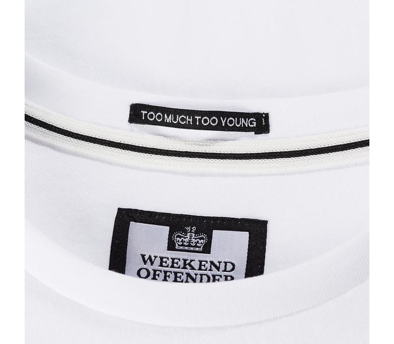 Weekend Offender Admit Nothing t-shirt White