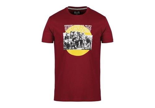Weekend Offender Weekend Offender Trouble t-shirt Garnet