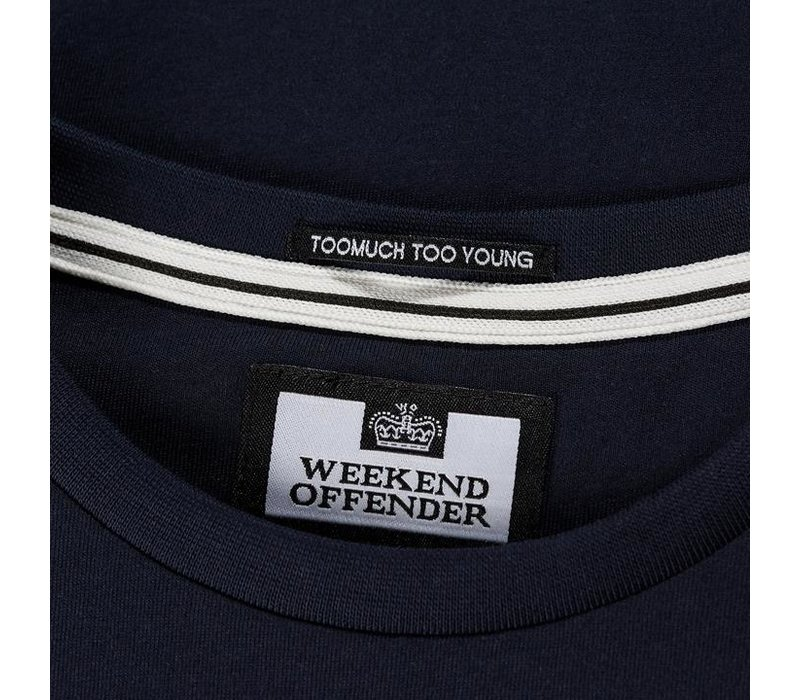 Weekend Offender Trainer t-shirt Navy