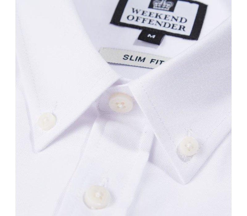 Weekend Offender Pallomari long sleeve shirt White