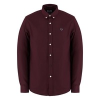 Weekend Offender Pallomari long sleeve shirt Garnet