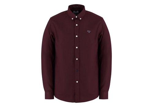 Weekend Offender Weekend Offender Pallomari long sleeve shirt Garnet