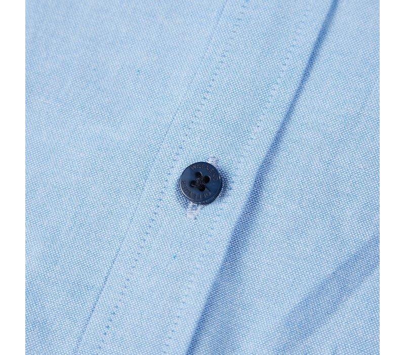 Weekend Offender Pallomari long sleeve shirt Pale blue