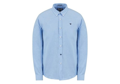Weekend Offender Weekend Offender Pallomari long sleeve shirt Pale blue
