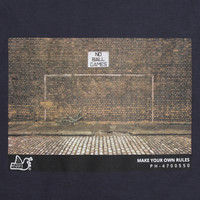 Peaceful Hooligan Goal t-shirt Navy