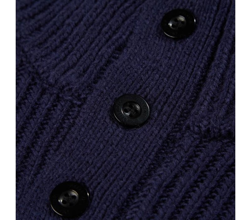 Weekend Offender Gato knit sweater Navy