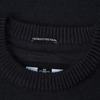Weekend Offender Fercho knit sweater Navy
