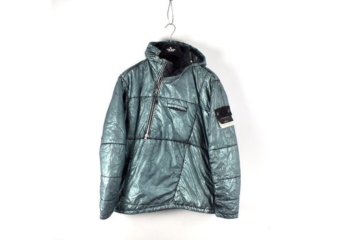 Stone Island Stone Island shadow project green nylon metallic mist anorak jacket XL