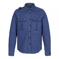 MA.STRUM two pocket overshirt Dark Indigo
